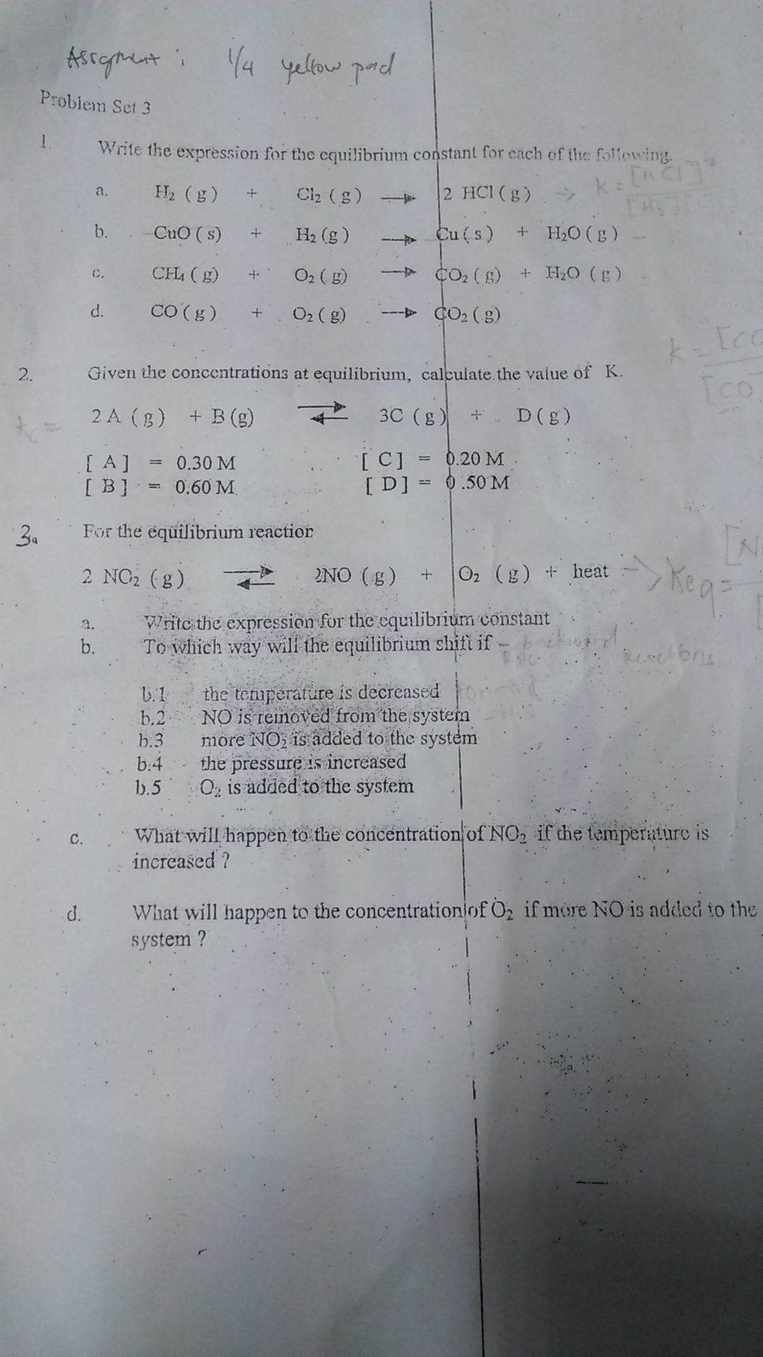 How To Solve Chemical Equilibrium Problems How To Solve