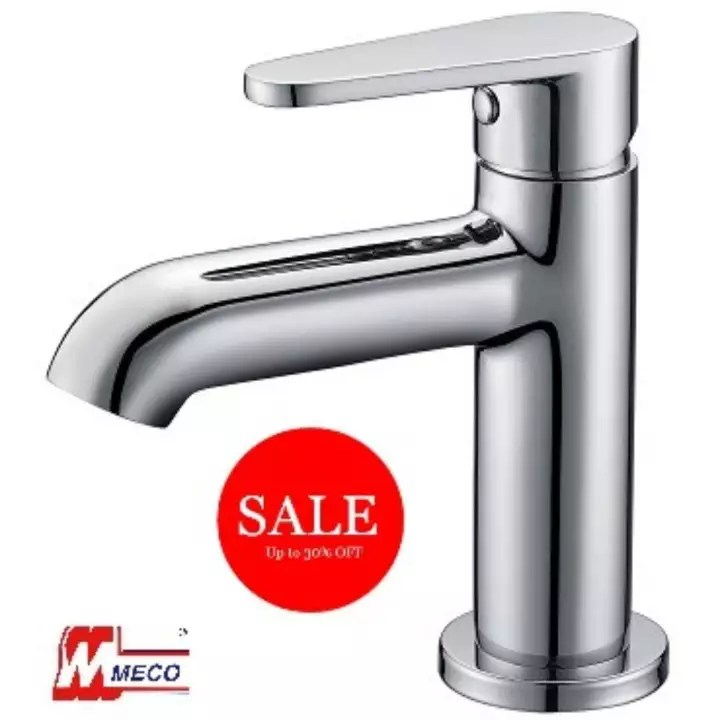 bathroom faucet for sink brass chrome deck mounted meco 2341 silver