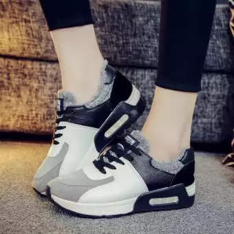 TRENDS Women s casual shoes Sneakers Flat shoes Outdoor sports     TRENDS Women s casual shoes Sneakers Flat shoes Outdoor sports fitness  Running Fashion shoes Black