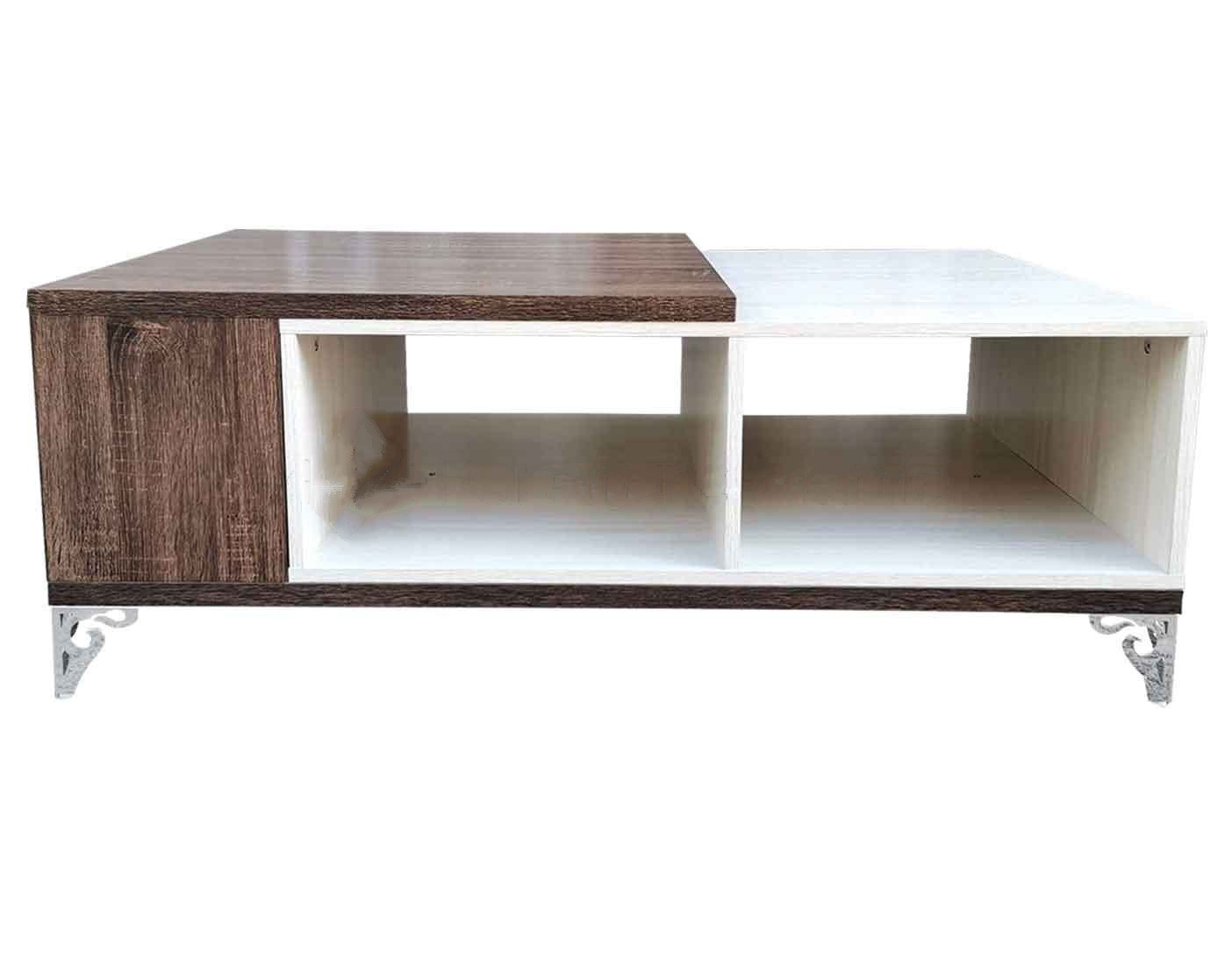 wooden modern multi functional coffee dining table wooden center table low accent table modern cocktail table with storage drawers for small