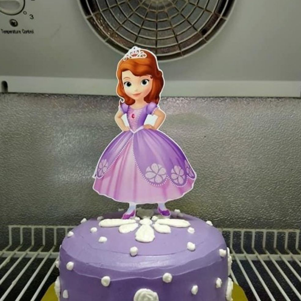 Sofia The First Character Cake Topper Lazada Ph