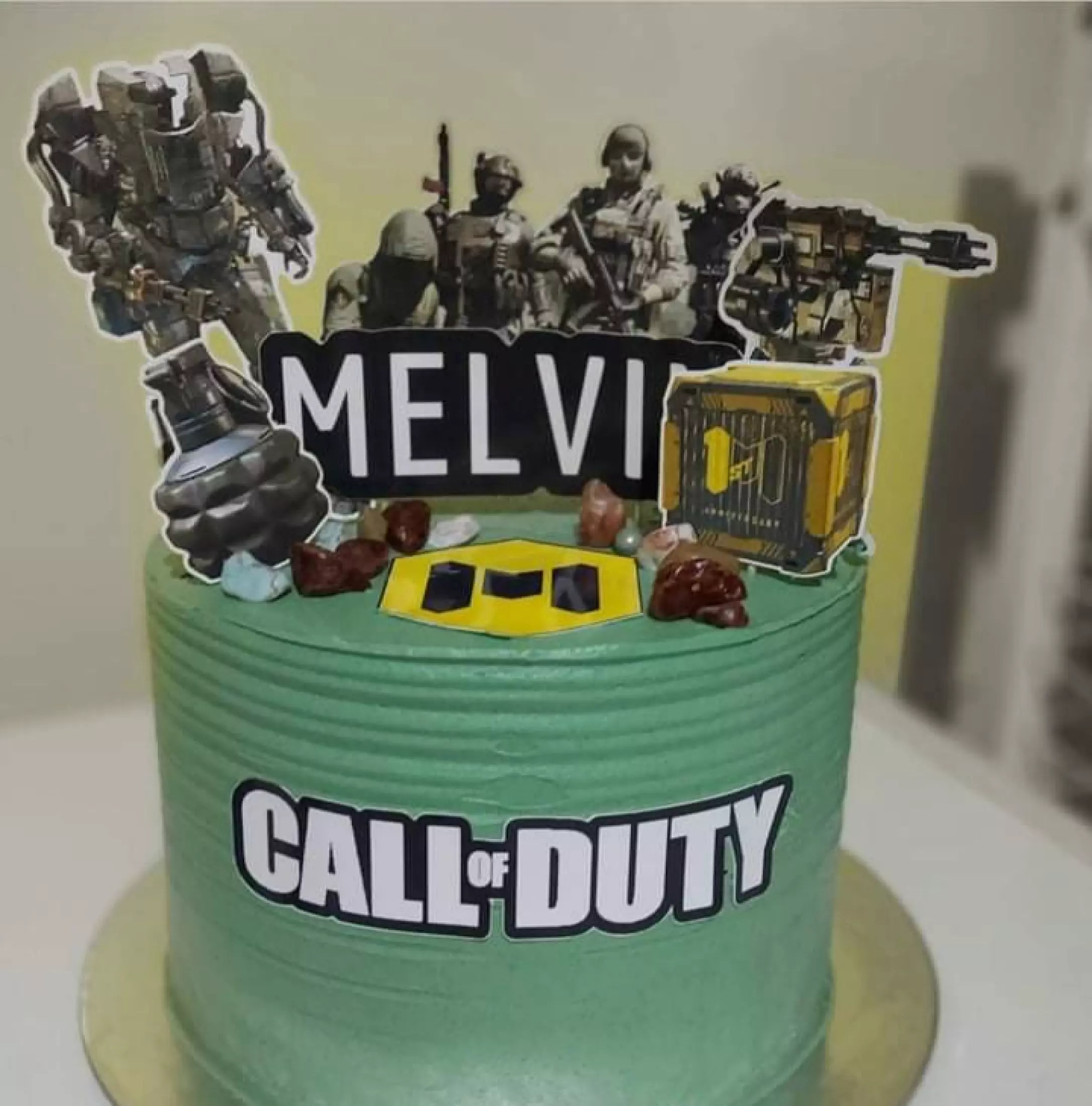 Paper Pocket Ph Call Of Duty Cake Topper And Customized Banner Ppcake Lazada Ph