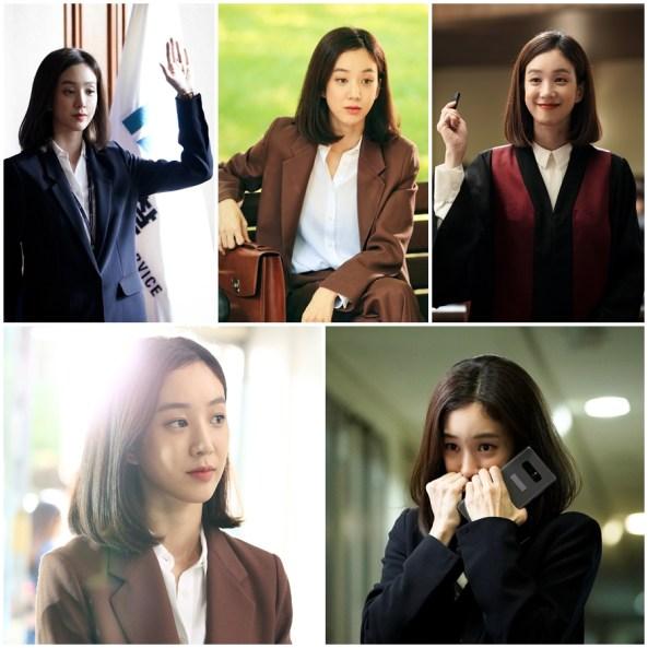 จองรยอวอน สวมบทบาท อัยการมาอีดึม ในละคร Witch's Court