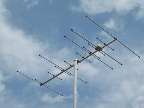 Dual-Band Yagi DK7ZB 144/430 MHz 5+8el. 150cm