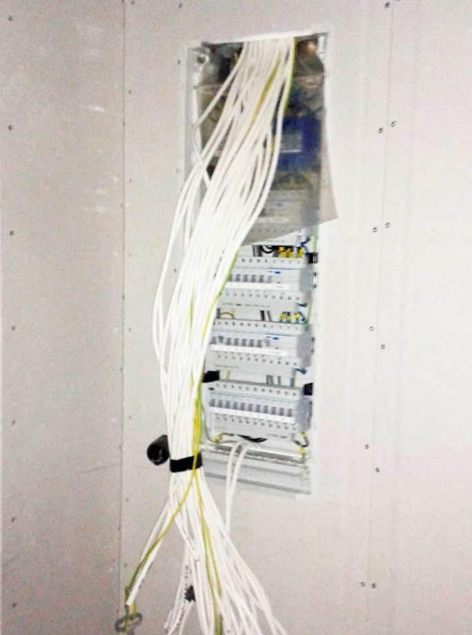 Elektrikaablite-paigaldus