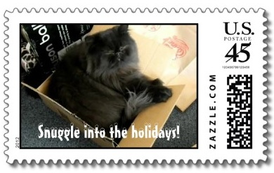 But Dougy was the subject of my 2012 Christmas card and postage stamp!