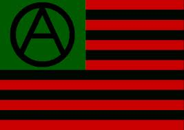 The flag of anarchy.  It is starting to look like the new flag flying over the USA.