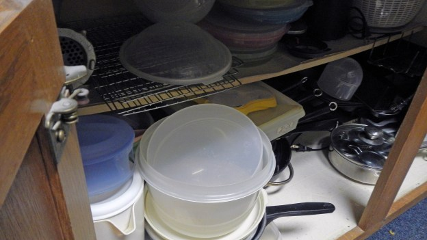 That's the egg poacher  on the far right, bottom shelf, the pan with the glass lid. Yeah, the eggs and toast were yummy!