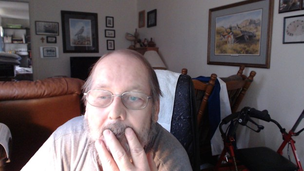 I am reasonably smart, yet it took me several days to fugure out my Logitech webcam is a reasonable substitute for my camera till I get the computer drive F. fixed....! Hmmm.