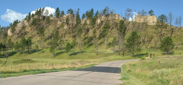 There are scenic drives through the park, cabins, campgrounds, and many amenities for the less rugged camper.