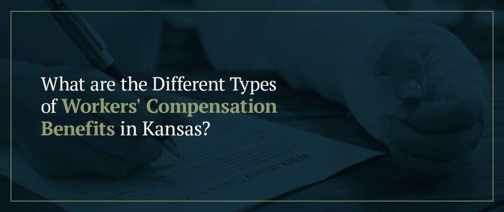 What are the different types of workers' compensation benefits in Kansas?