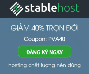 Stable Host Sale Off 40%
