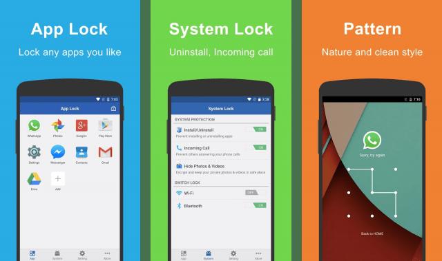 AppLock برنامج لقفل التطبيقات