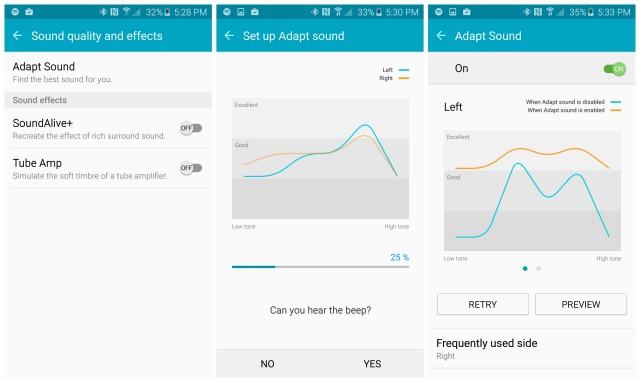 Samsung Galaxy S6 Adapt installazione sonora