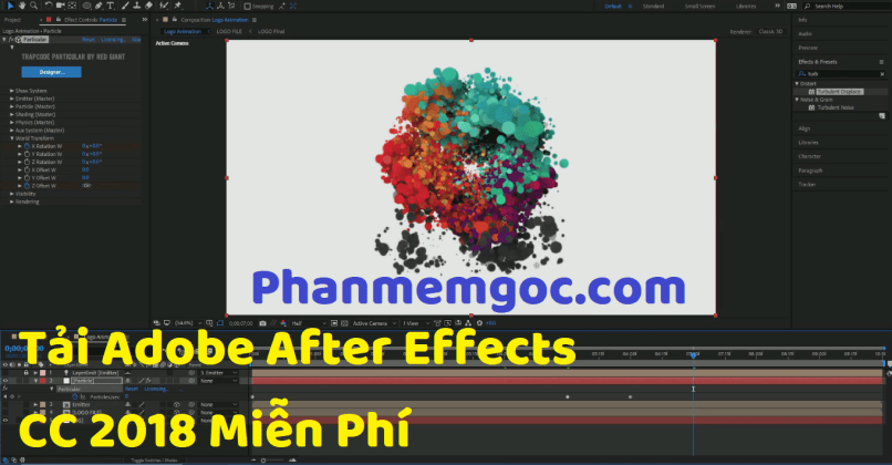 Tải Adobe After Effects CC 2018 miễn phí