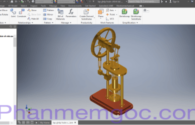 Download Autodesk Inventor Professional 2018 Full Crack Link Google Drive-Phần Mềm Gốc
