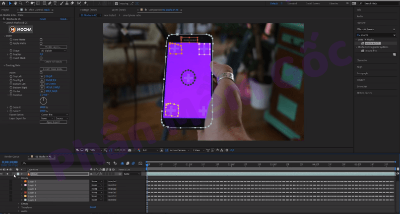Download Adobe After Effects CC 2019 Crack Mới Nhất+Mocha plugin