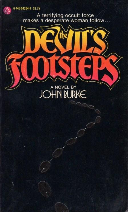 Front cover for John Burke's pseudo-satanic novel