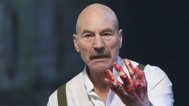 Patrick Steward in Shakespeare's Macbeth
