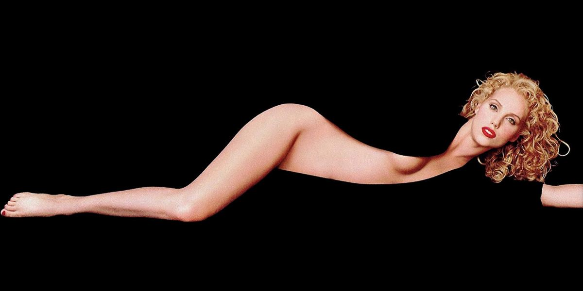 Promotional poster for Paul Veerhoven's Showgirls featuring Elizabeth Berkley