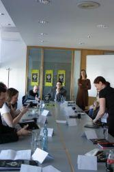 Treffen mit Sanderson, Journalisten und Blogger, Piper-Verlag © Eva Bergschneider