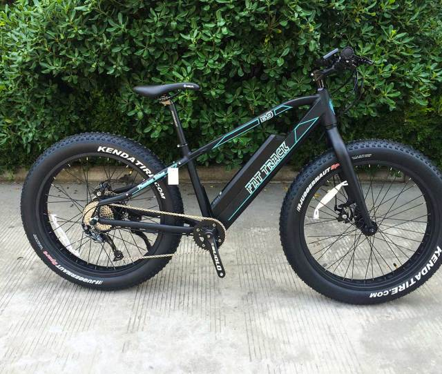 Fat Track Electric Motor Mountain Bike