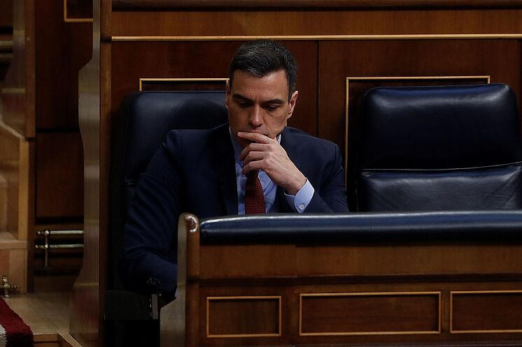 GRAF4120. MADRID.- The President of the Government, lt; HIT gt; Pedro lt; / HIT ...