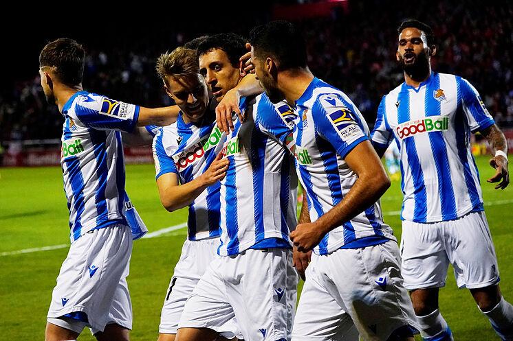 Copa del Rey - Semi Final - Second Leg - Mirandes v lt; HIT data-recalc-dims=