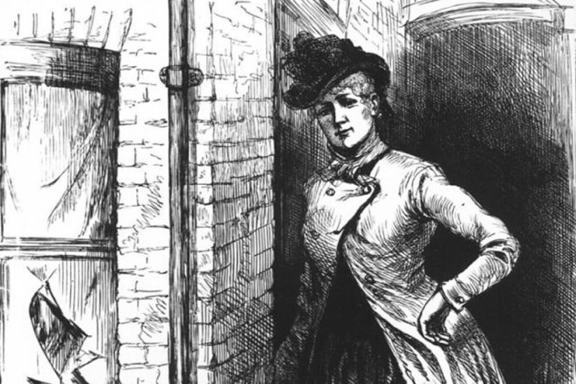 Mary Kelly, represented by the 1888 press.