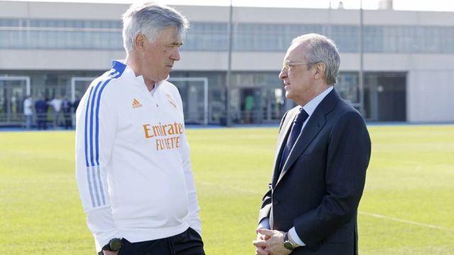 Real Madrid Premier League Florentino Perez