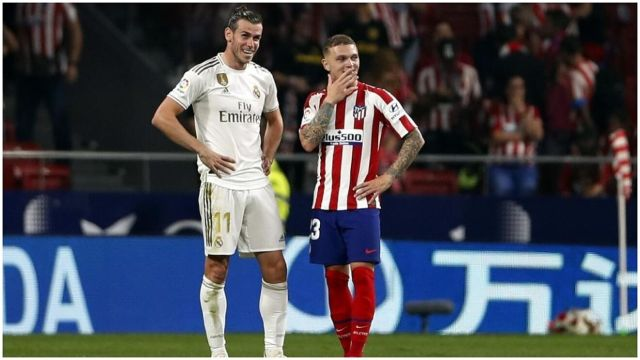 Bale Trippier Real Madrid Atletico