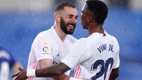 Real Madrid – La Liga: Benzema: I believe in Vinicius Jr., sometimes I address him out loud, but it's because of him
