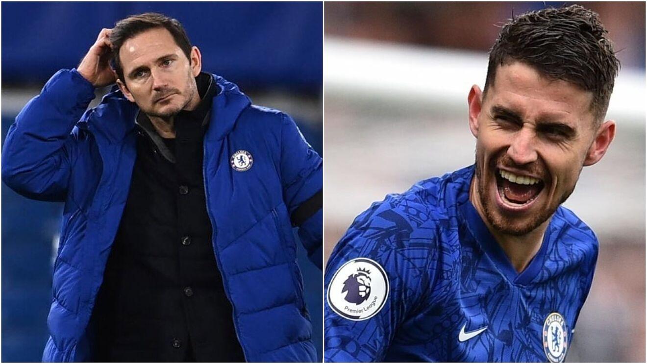 Jorginho and Lampard