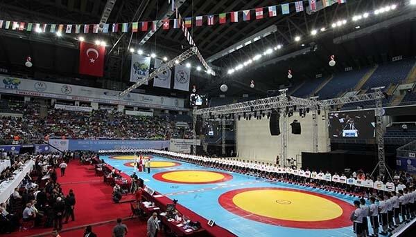 SENIOR WRESTLING WORLD CHAMPIONSHIP - ISTANBUL