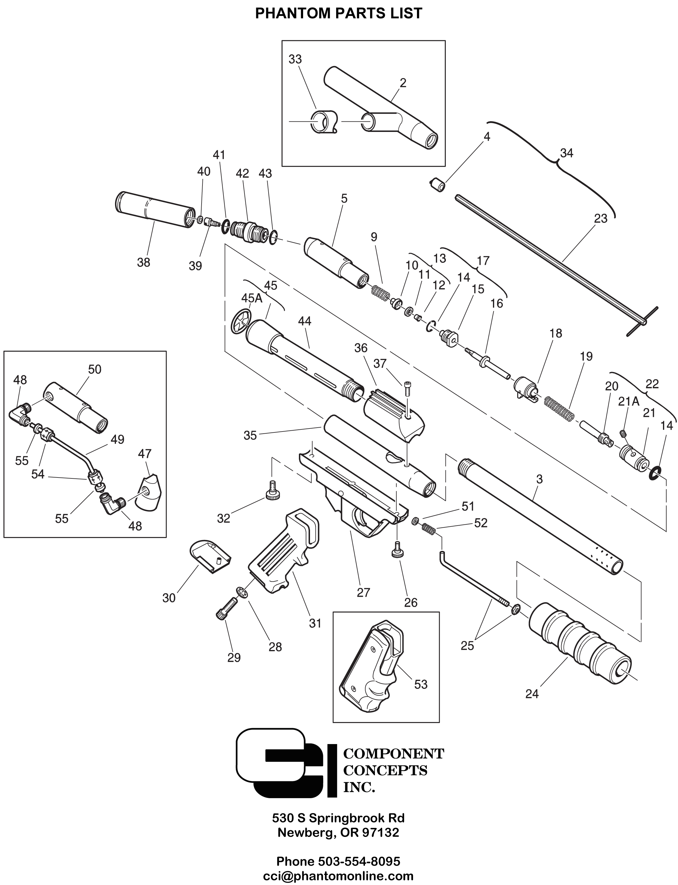 Phantom 4 Pro Parts Diagram