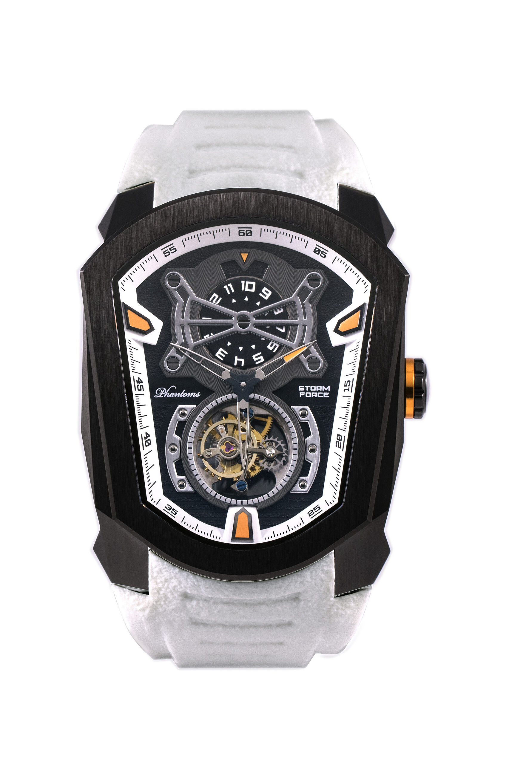 Phantoms Storm Force Flying Tourbillon Mechanical Watch