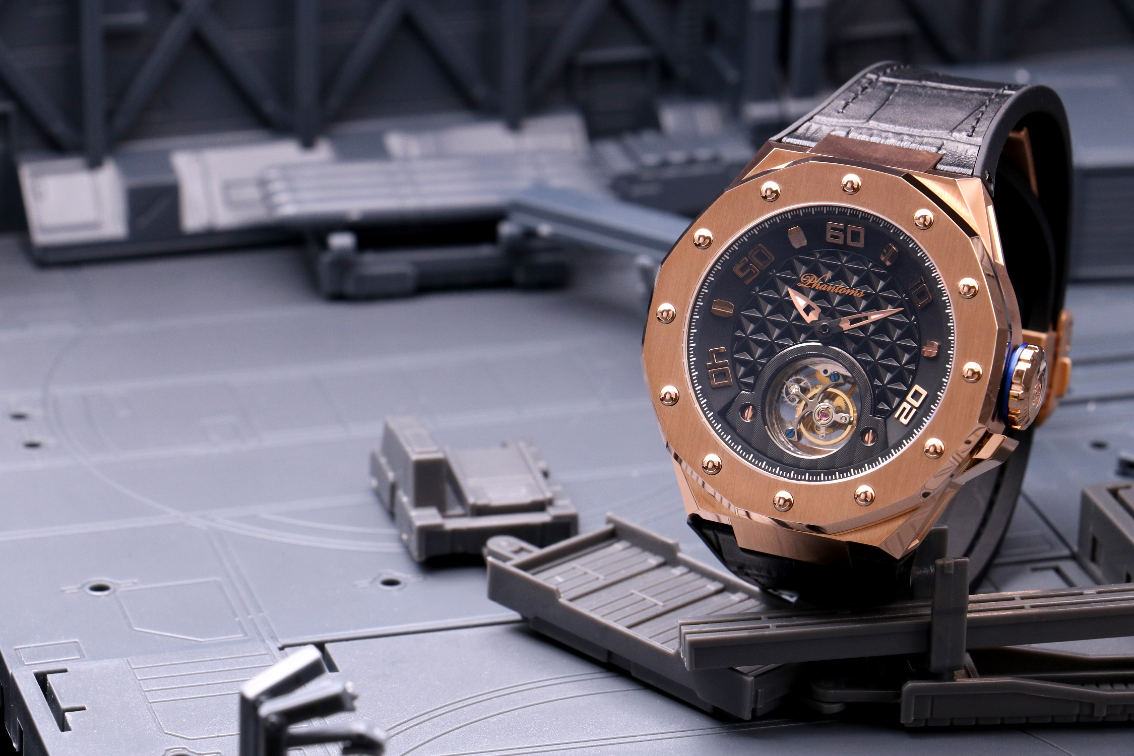 Phantoms Saintly Shield Flying Tourbillon Mechanical Watch