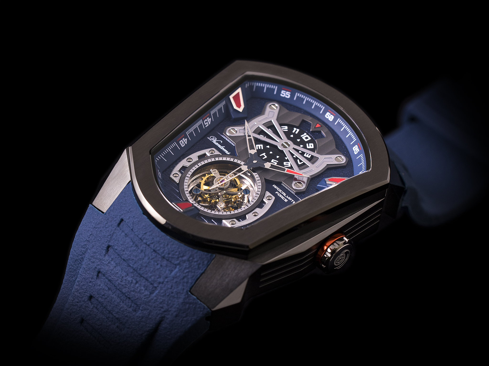 Phantoms Apocalyptic Force Flying Tourbillon Mechanical Watch
