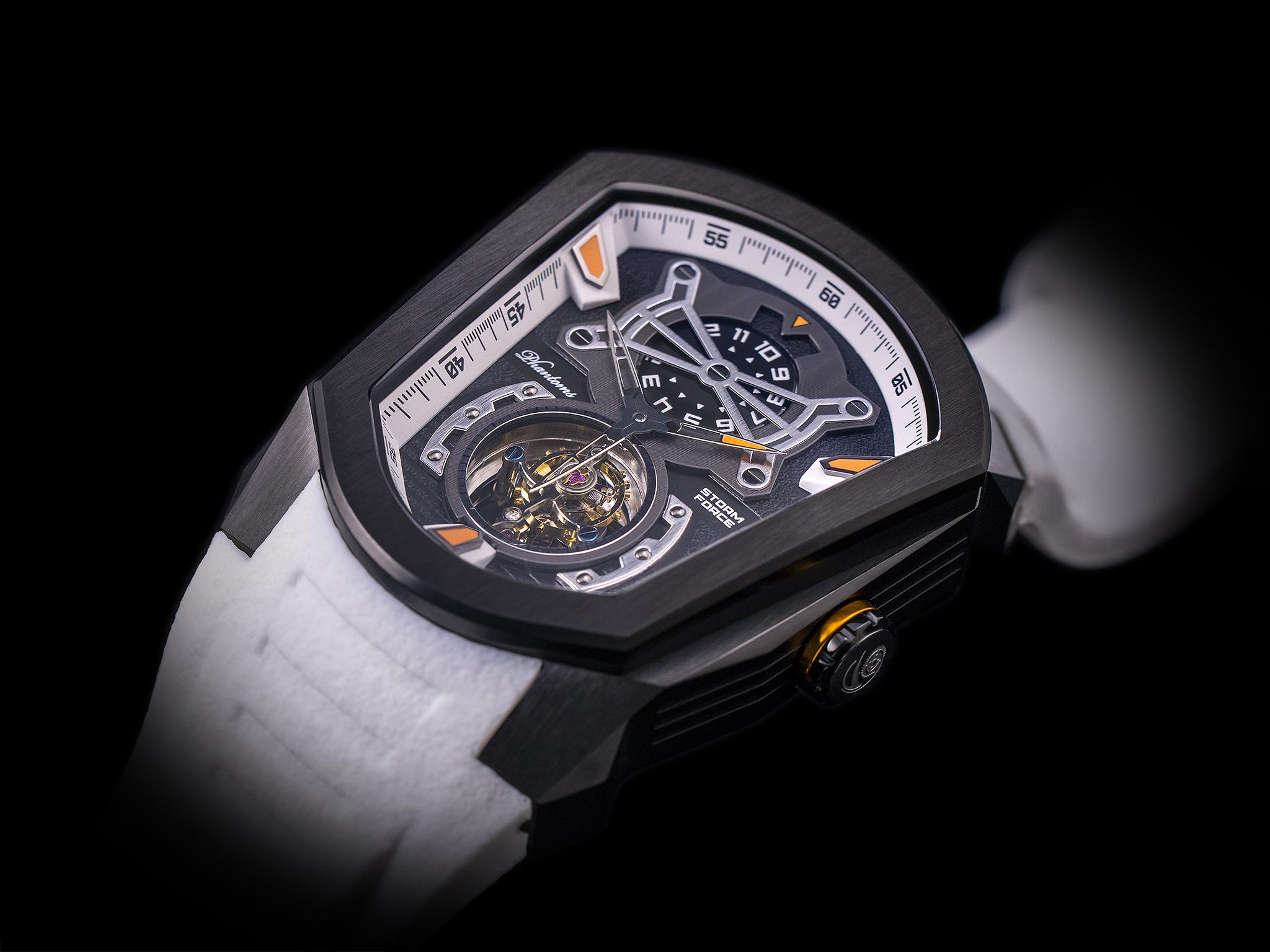 Phantoms Storm Force Flying Tourbillon Mechanical Watch