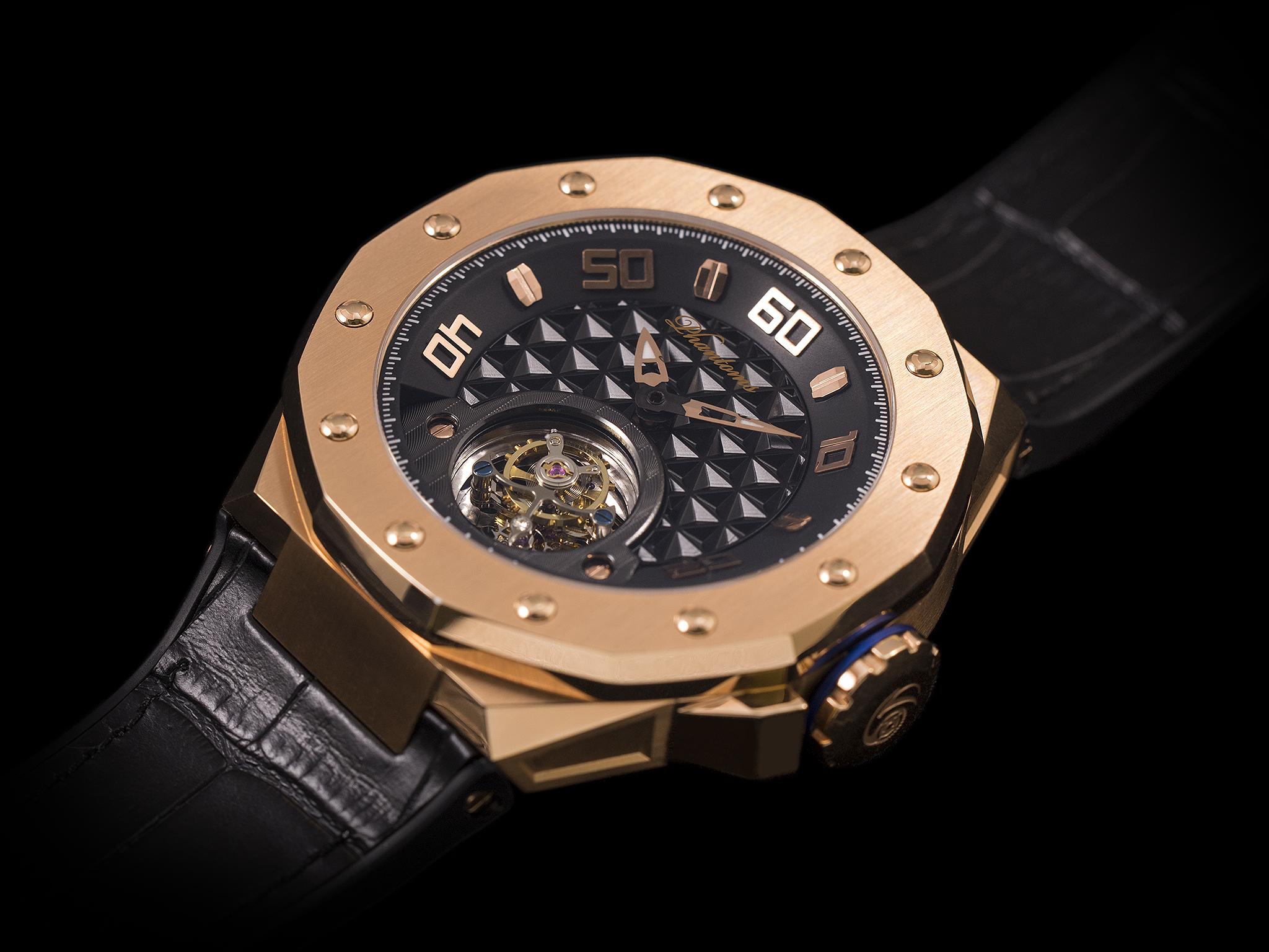 Phantoms Saintly Shield Flying Tourbillon Mechanical Watch