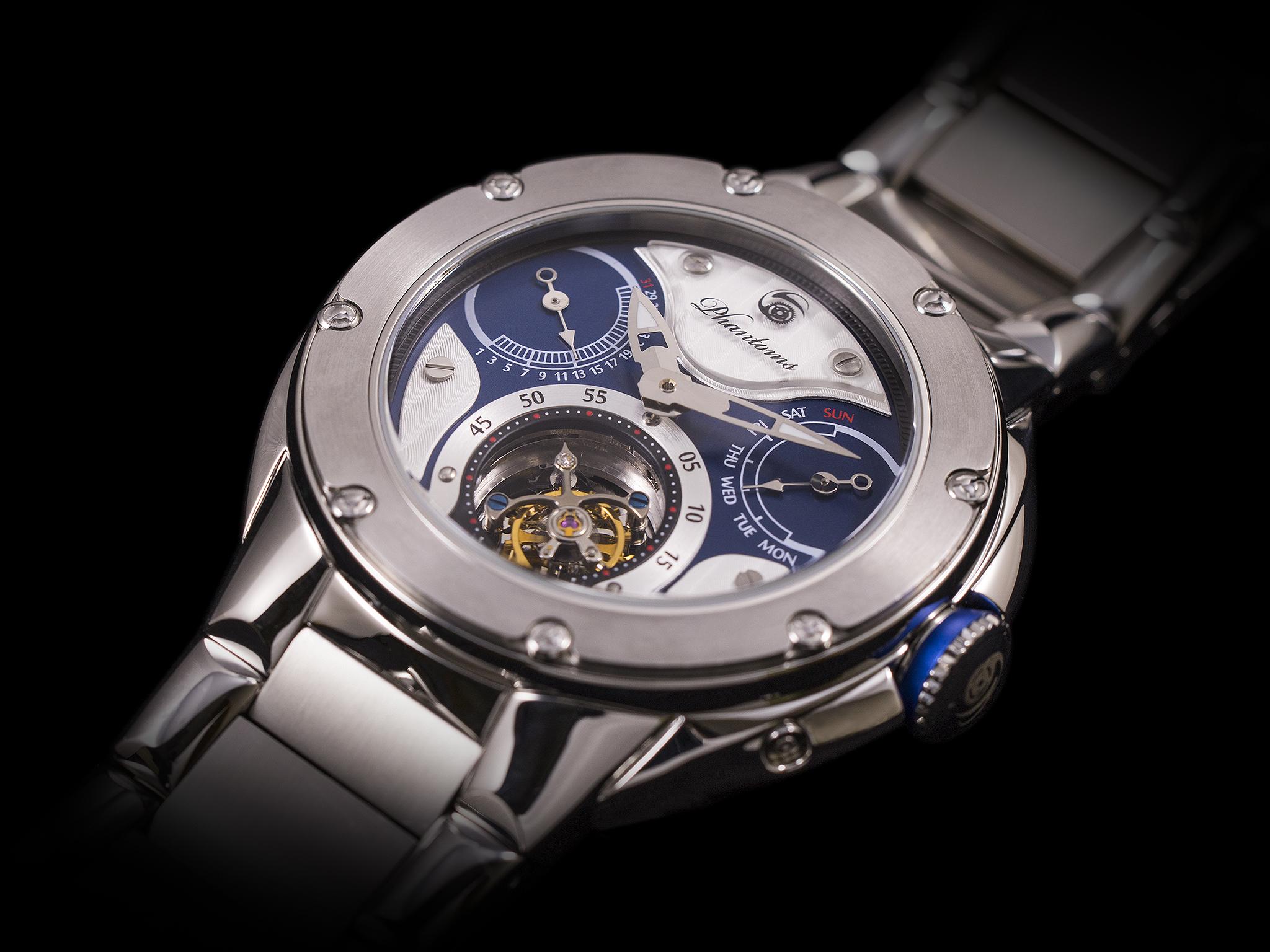 Phantoms Knights Soul Tourbillon Mechanical Watch