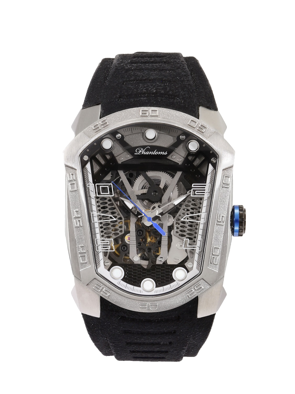 Gun Blade Futuristic Mechanical Skeleton Watch