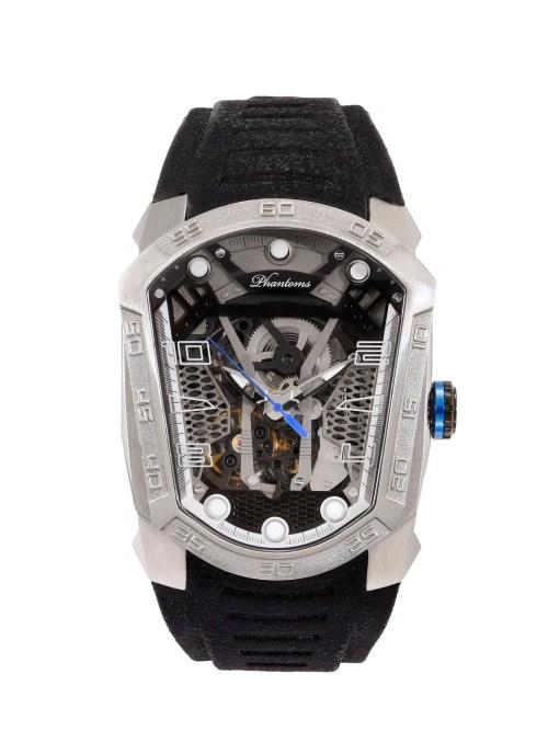 Gun Blade Futuristic Mechanical Skeleton Watch