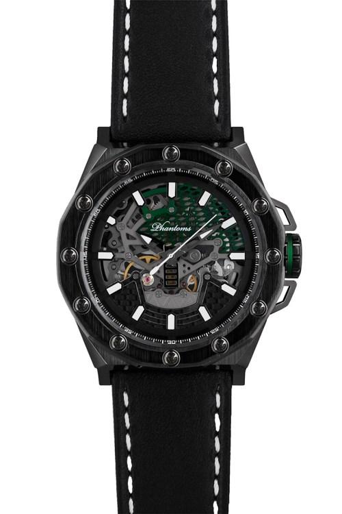 PHTW504-01 phantoms gravedigger boneyard automatic skeleton watch