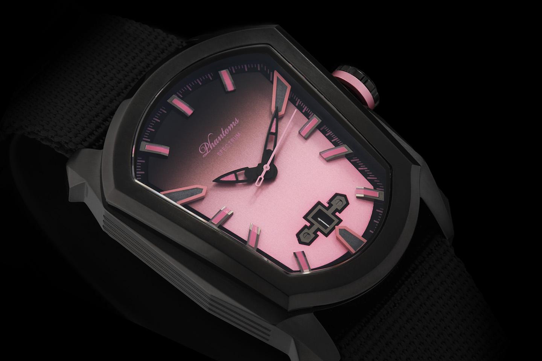 PHTW405 Phantoms rose pink Spectrum miyota automatic mechanical watch