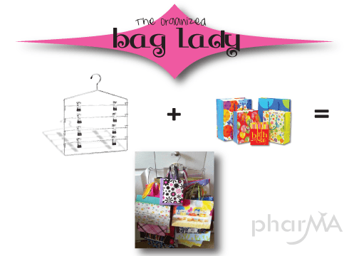 How to Organize your gift bags