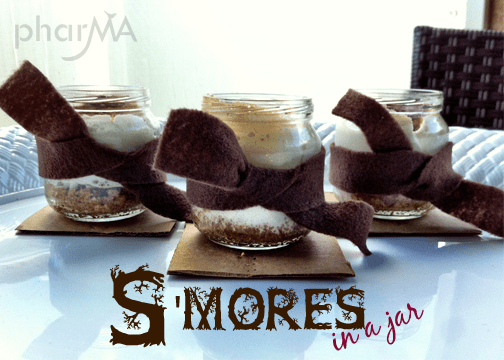 Easy S'Mores in a Jar