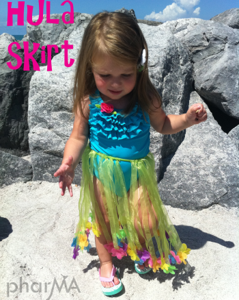 Toddler Hula Skirt