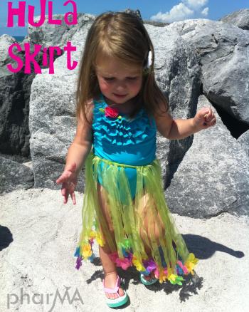 Toddler Hula Skirt