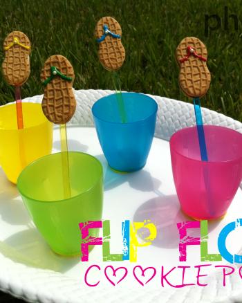 Flip Flop Cookie Pop